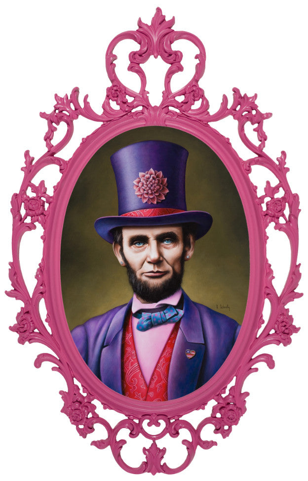 """Abe Lincoln: American Badass"" - Spoke Art"