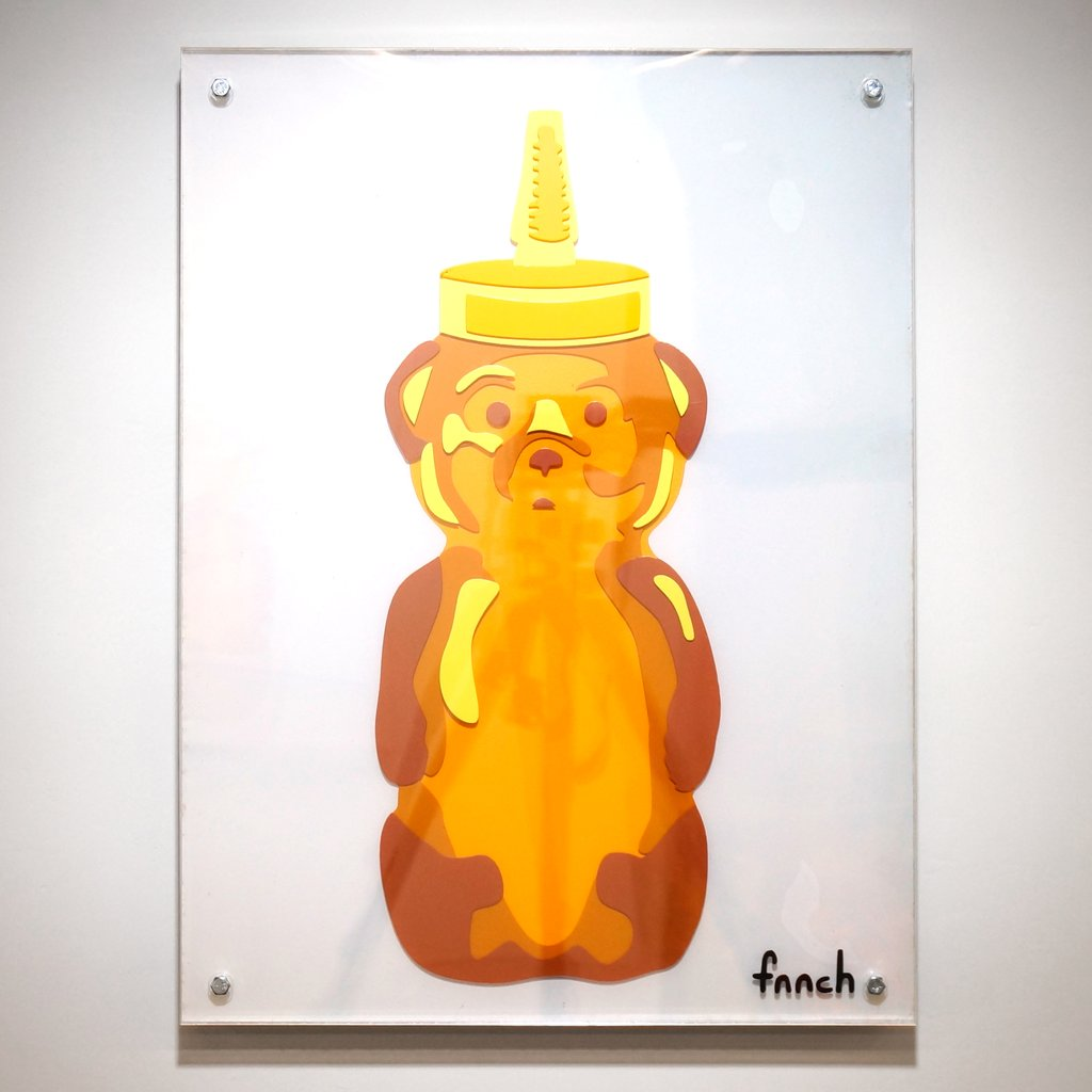 "fnnch - ""Layered Honey Bear AP"" - Spoke Art"