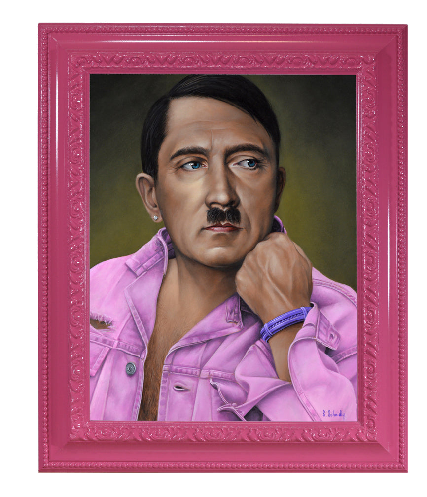 "Scott Scheidly - ""Adolf Hitler"" - Spoke Art"