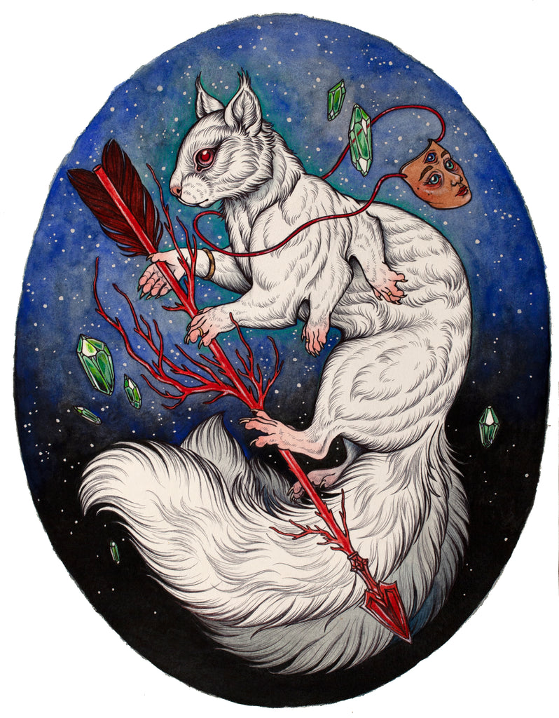 "Caitlin Hackett - ""The Pale Druid"" - Spoke Art"