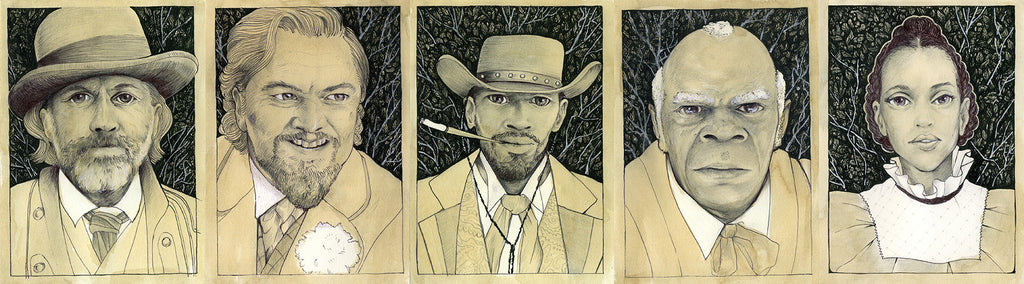 "Alex R. Kirzhner - ""Django"" - Spoke Art"