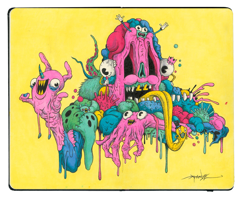 "Alex Pardee - ""Sweathog"" - Spoke Art"