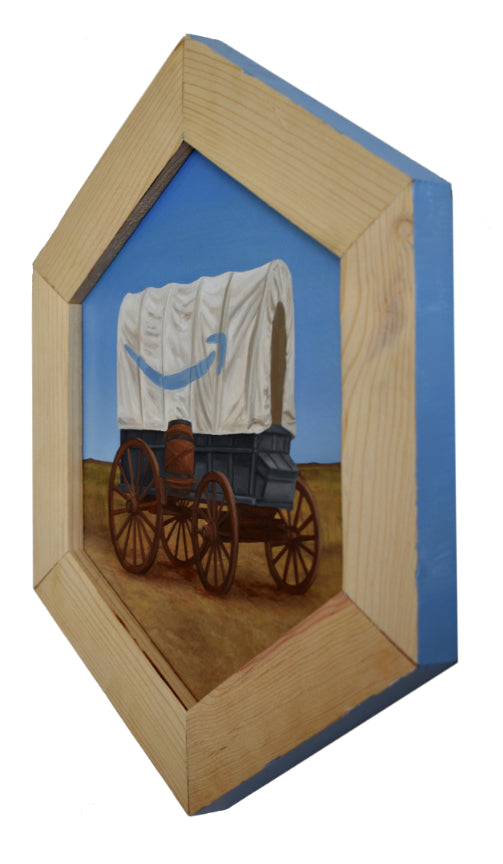 "Peter Adamyan - ""Amazon Wagon"" - Spoke Art"