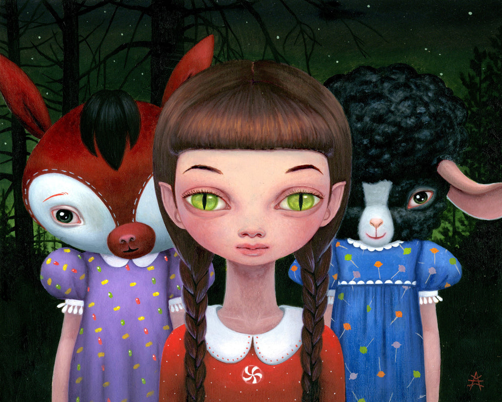 "Ana Bagayan - ""Trick or Treaters"" - Spoke Art"