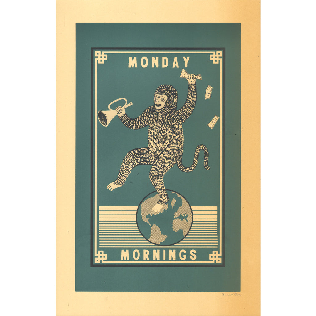 "Arna Miller - ""Monday Mornings"""