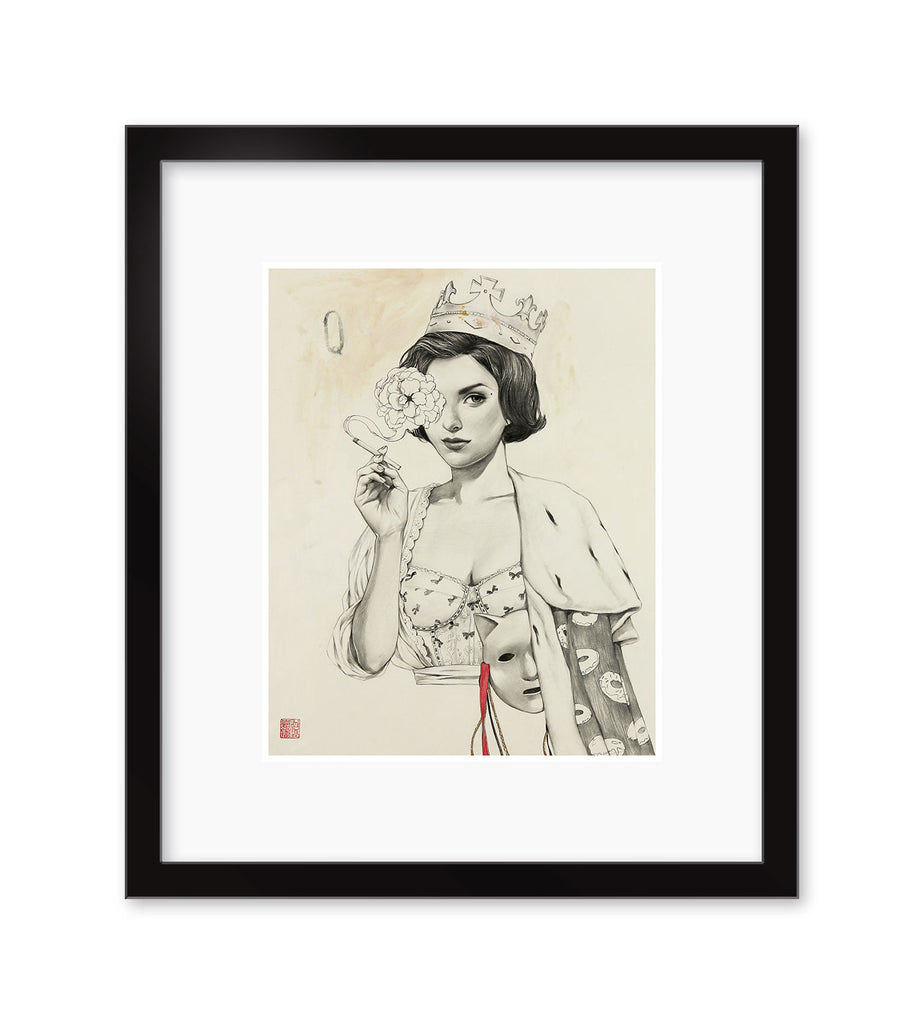 "Helice Wen - ""Audrey"" (print) - Spoke Art"