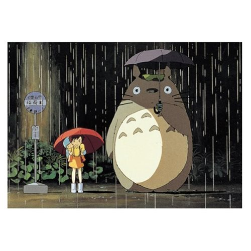 """My Neighbor Totoro"" Rain Bus Stop Petite Puzzle"