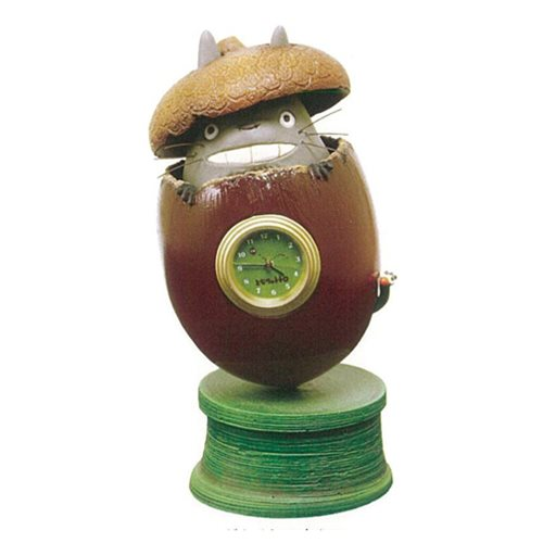 """My Neighbor Totoro"" Acorn Clock - Spoke Art"