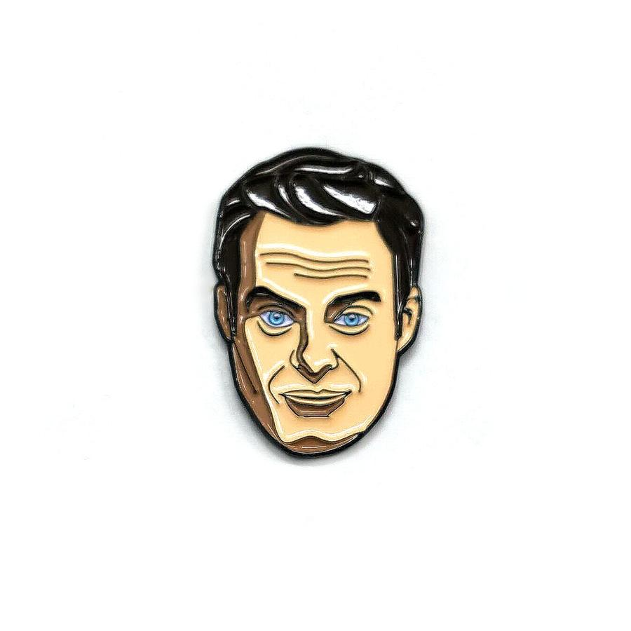 Barry Enamel Pin - Spoke Art