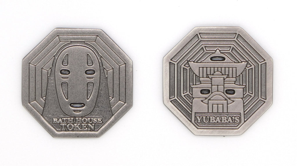 "Bruce Yan - ""Bathhouse"" Nickel Token - Spoke Art"