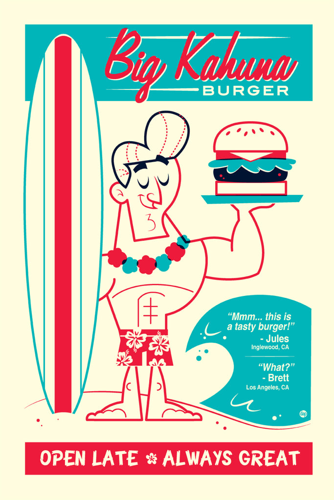 "Dave Perillo - ""Big Kahuna Burger"" - Spoke Art"