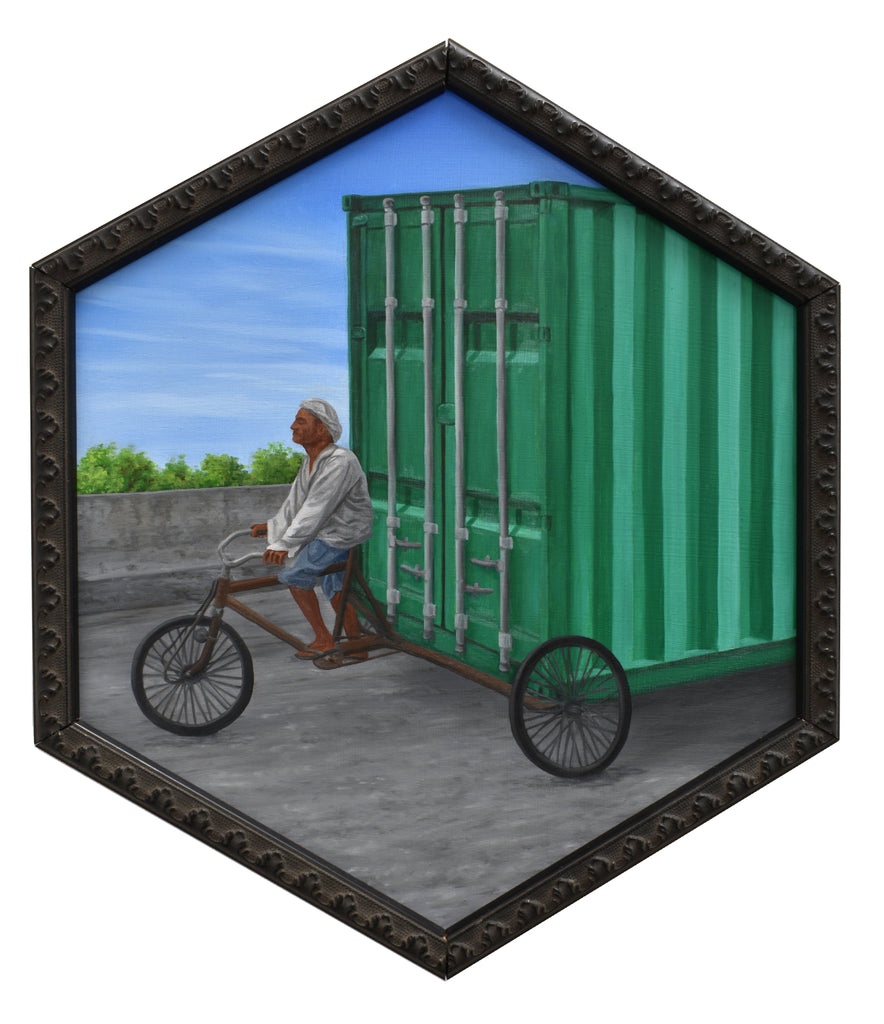 "Peter Adamyan - ""Bike Rickshaw Cargo Delivery"" - Spoke Art"