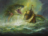 "Bob Eggleton - ""Serpent of the Golden Sea"""