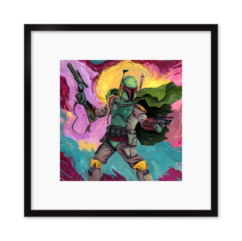 "Rich Pellegrino - ""Boba Fett"" - Spoke Art"