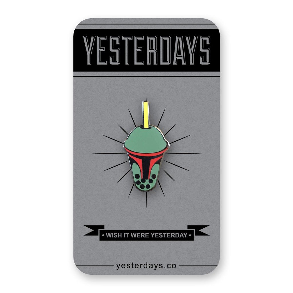 Boba Fett Enamel Pin - Spoke Art