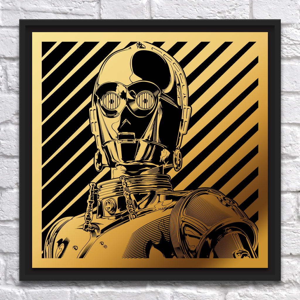 "Joshua Budich - ""C3PO"" - Copper - Spoke Art"
