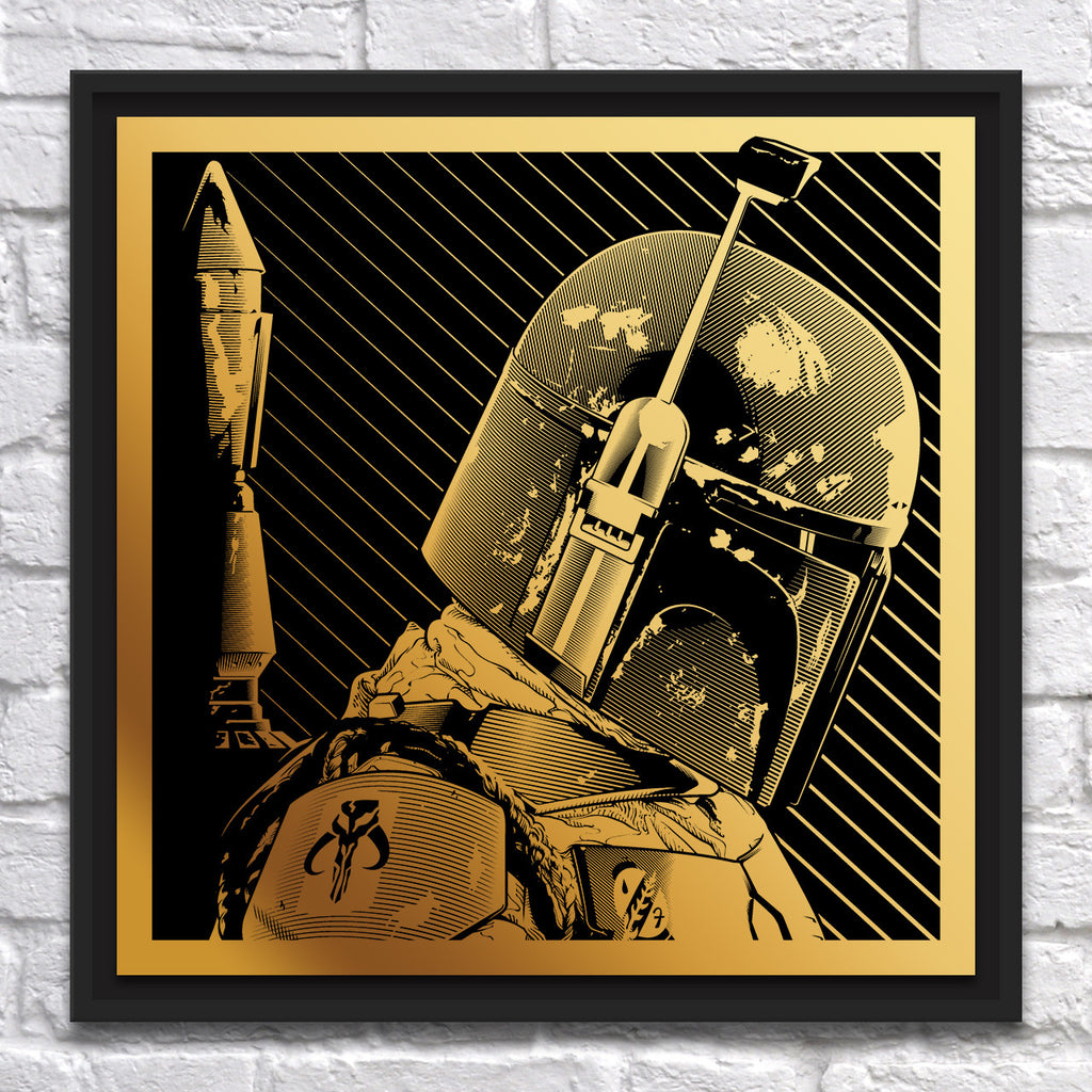 "Joshua Budich - ""Boba Fett"" - Brass - Spoke Art"