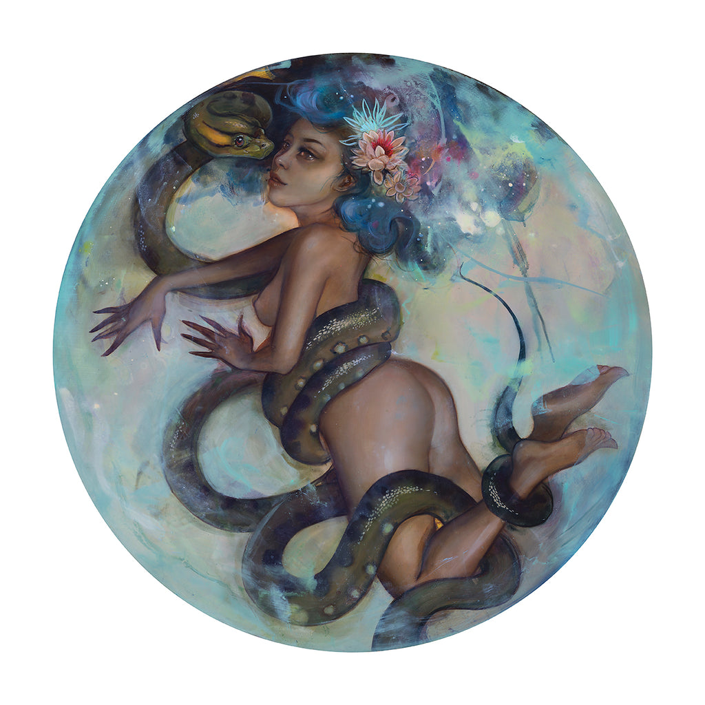 "Tatiana Suarez - ""Breathless"" (print) - Spoke Art"