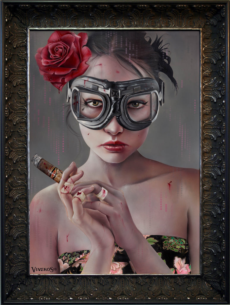 "Brian M. Viveros - ""Night Vision"" - Spoke Art"