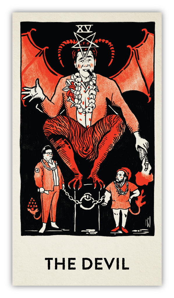 "Brighton Ballard - ""Seinfeld Tarot Cards"" - Spoke Art"
