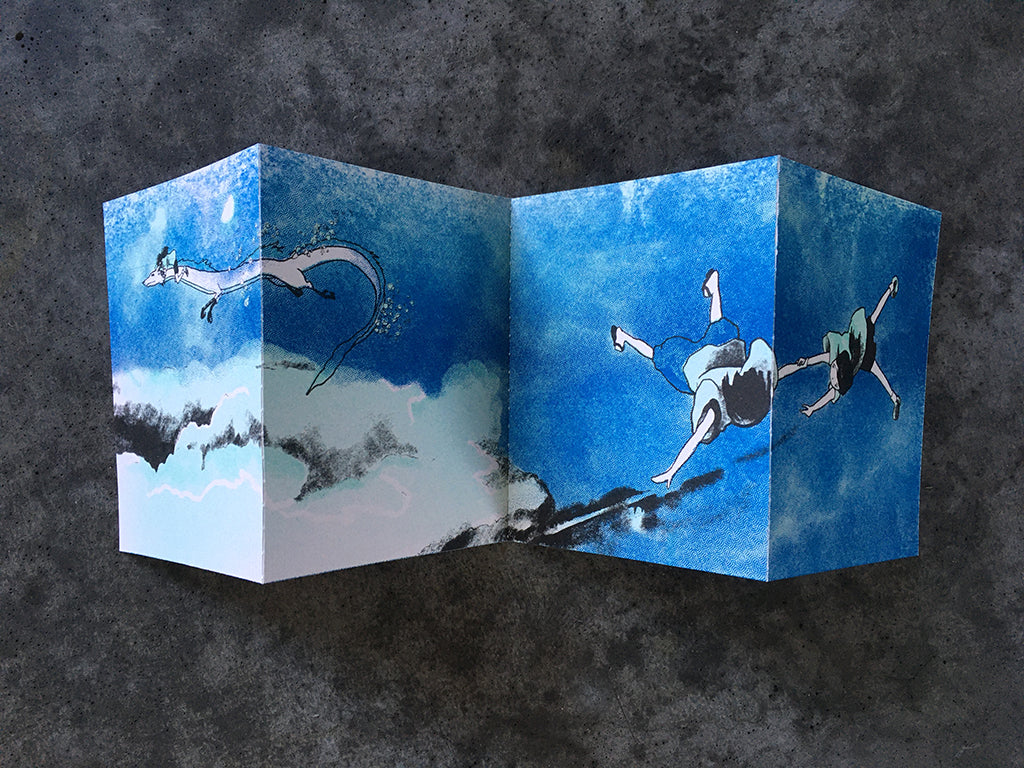 "Brighton Ballard - ""Haku / Kohaku in Four Panels"" - Spoke Art"