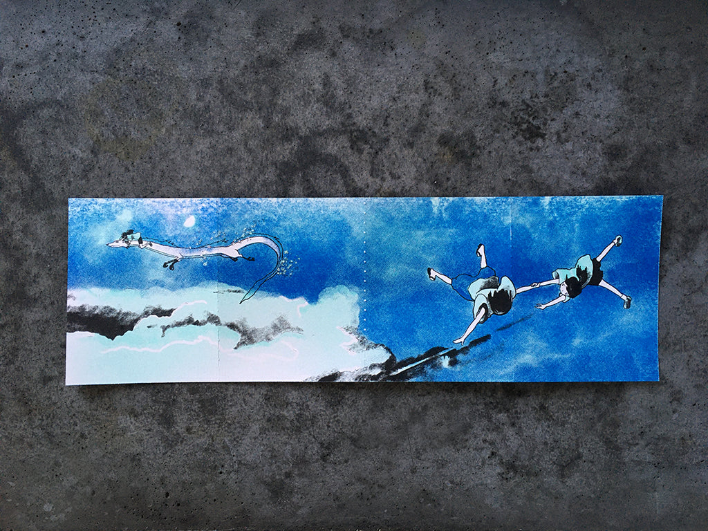 "Brighton Ballard - ""Haku / Kohaku in Four Panels"""