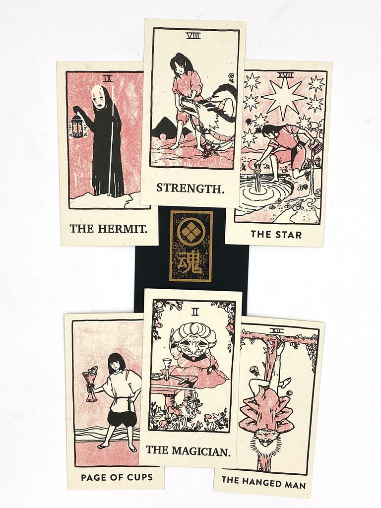 "Brighton Ballard - ""Spirited Away Tarot Cards Set"" - Spoke Art"