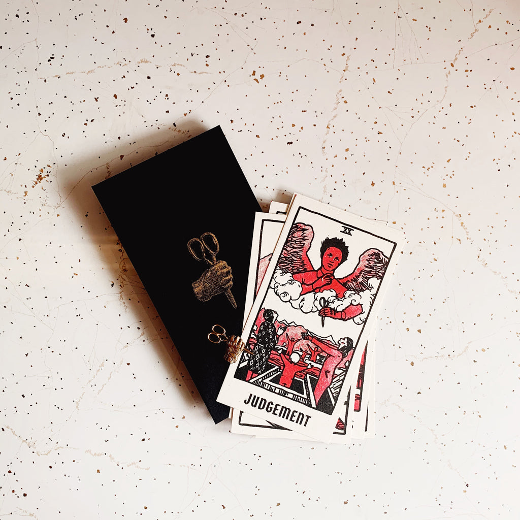 "Brighton Ballard - ""Us"" Tarot Cards & Pin Set"