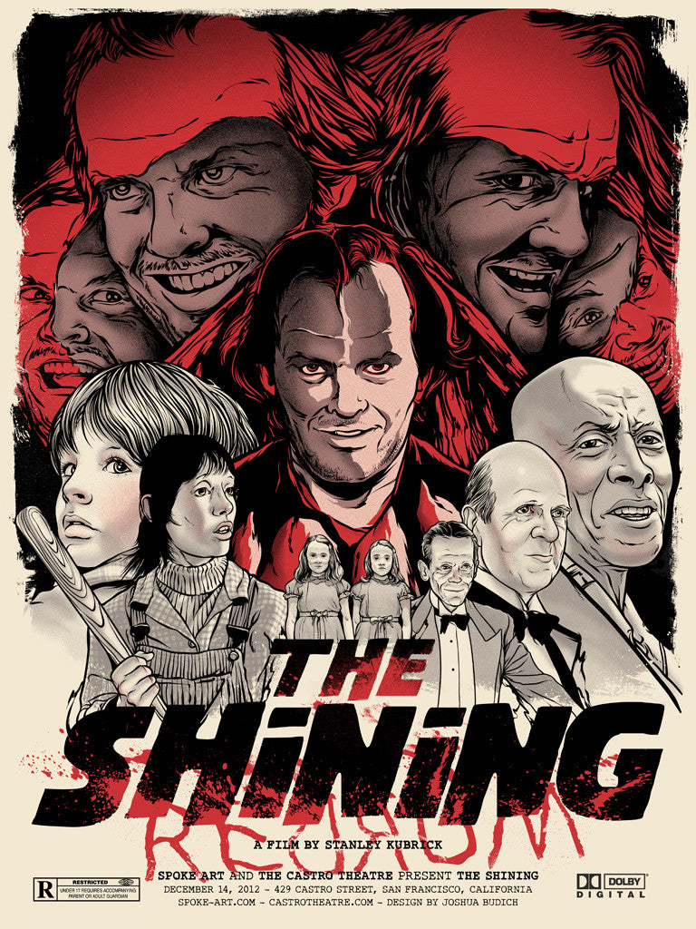 "Joshua Budich - ""The Shining"" - Spoke Art"