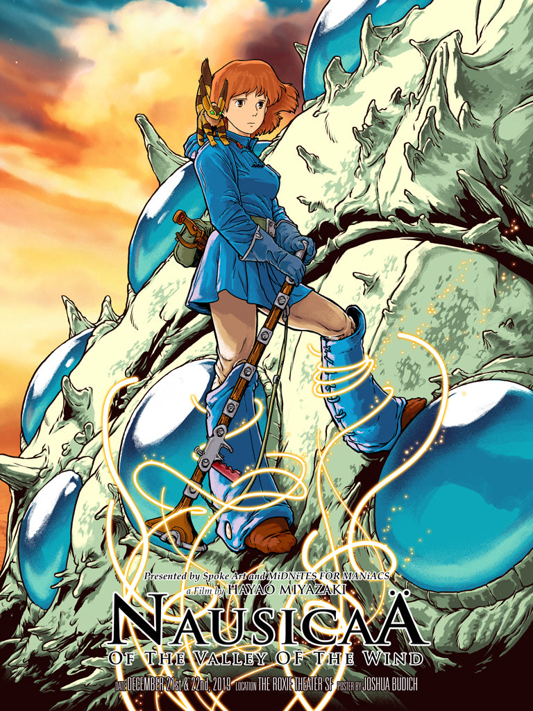 "Joshua Budich - ""Nausicaa of the Valley of the Wind"" 2019"