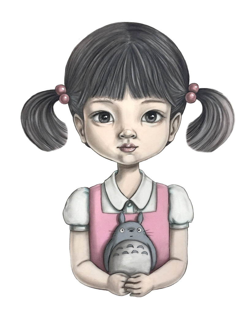"Cindy Scaife - ""Mei and Totoro"" - Spoke Art"