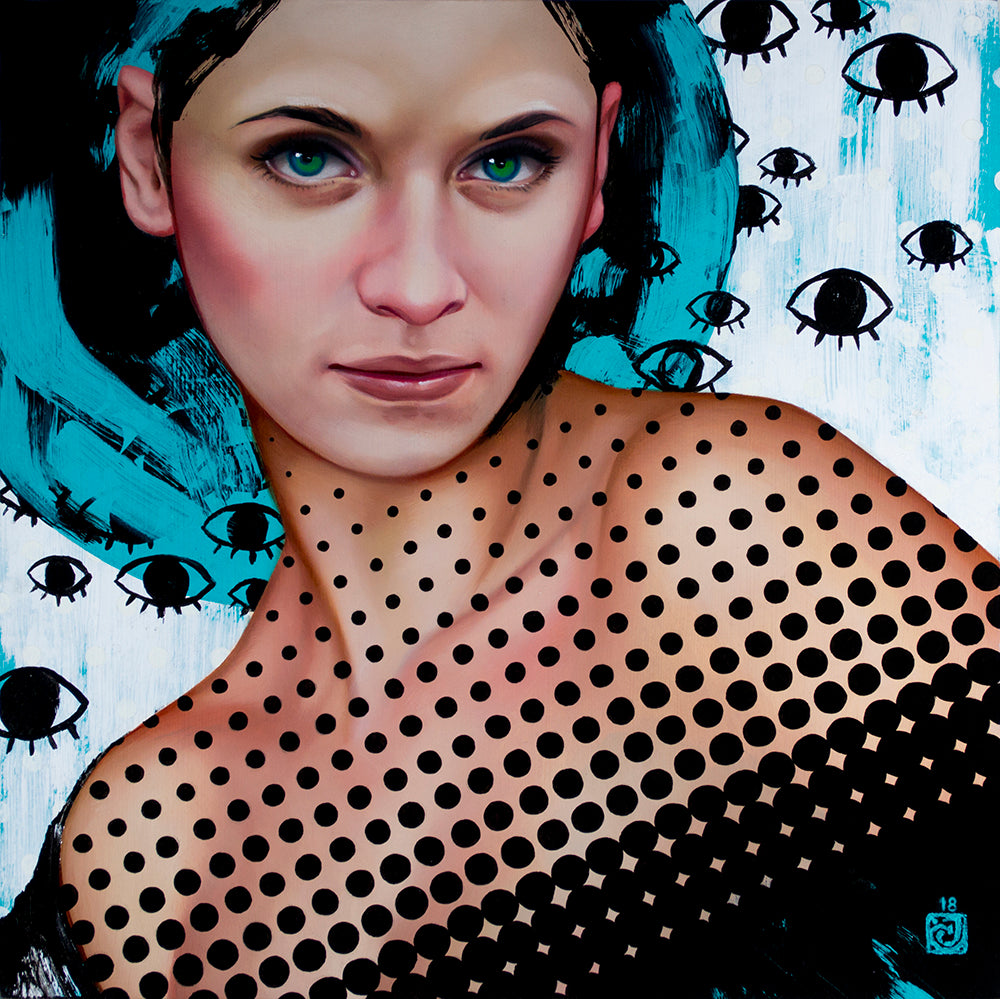 "Carly Janine Mazur - ""All Eyes"" - Spoke Art"