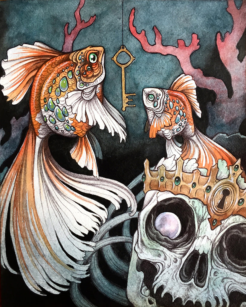 "Caitlin Hackett - ""Courtiers To The Drowned King"" - Spoke Art"