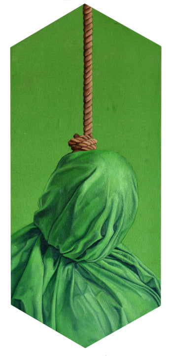 "Peter Adamyan - ""Camouflage Hangman Green"" - Spoke Art"