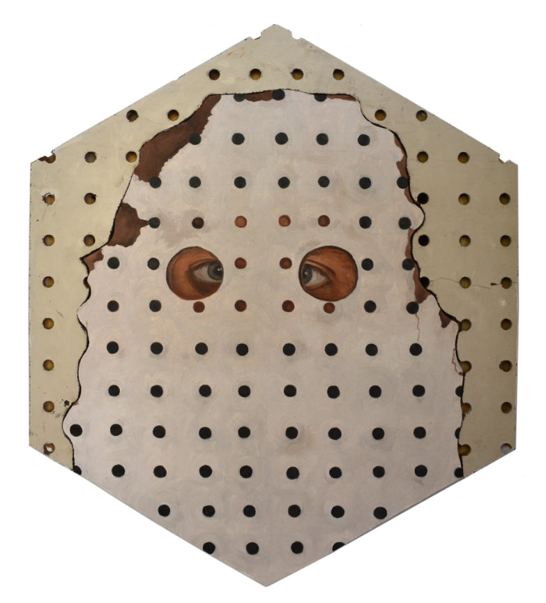 "Peter Adamyan - ""Camouflage Pegboard"" - Spoke Art"