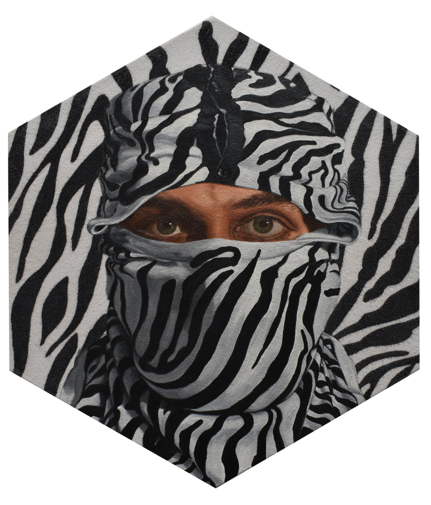 "Peter Adamyan - ""Camouflage Zebra"" - Spoke Art"