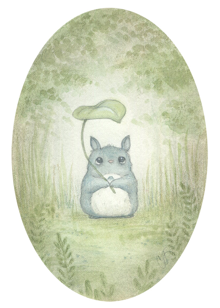 "Candace Jean - ""Chu-Totoro: Forest Spirit"" - Spoke Art"