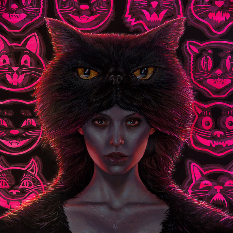 "Casey Weldon - ""Hoodcat"" - Spoke Art"