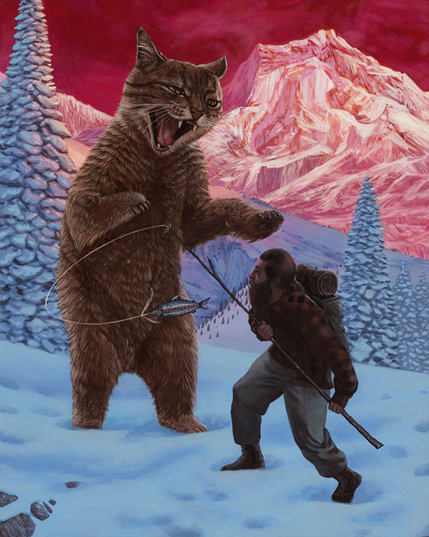"Casey Weldon - ""Kodiakat"" - Spoke Art"