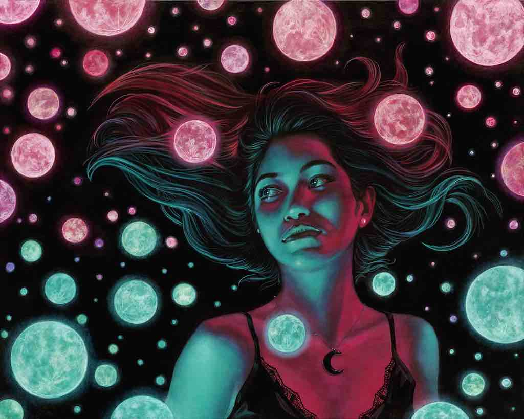 "Casey Weldon - ""Many Moons"" - Spoke Art"