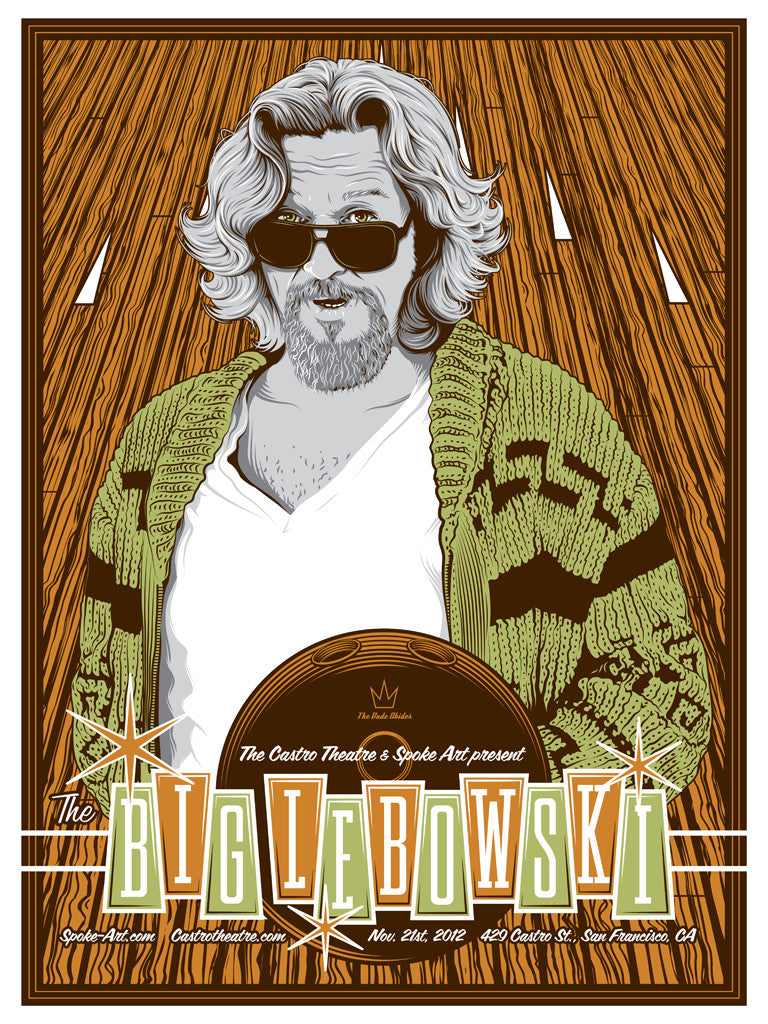 "Tracie Ching - ""The Big Lebowski"" - Spoke Art"