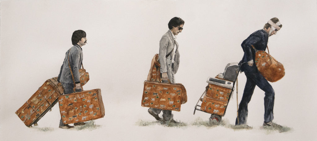 "Christine Hostetler - ""Baggage Brothers"""
