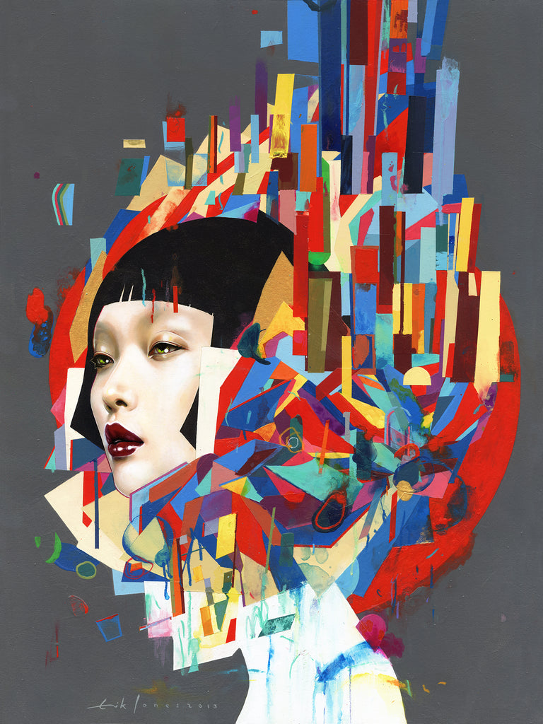 "Erik Jones - ""City"" - Spoke Art"