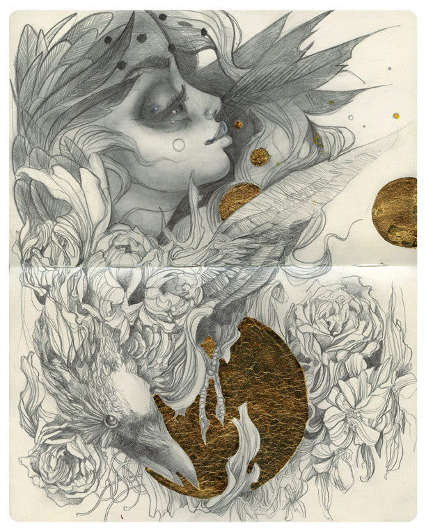 "Craww and Tatiana Suarez - ""Untitled I"" (collaborative)"