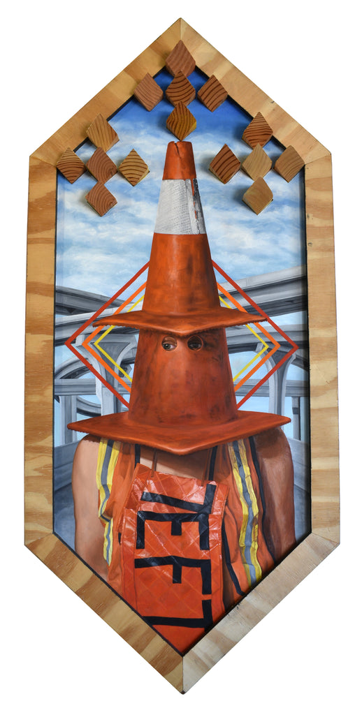 "Peter Adamyan - ""Conehead"" - Spoke Art"