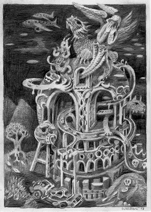 "David Welker - ""Contemplating Innocence"" - Spoke Art"