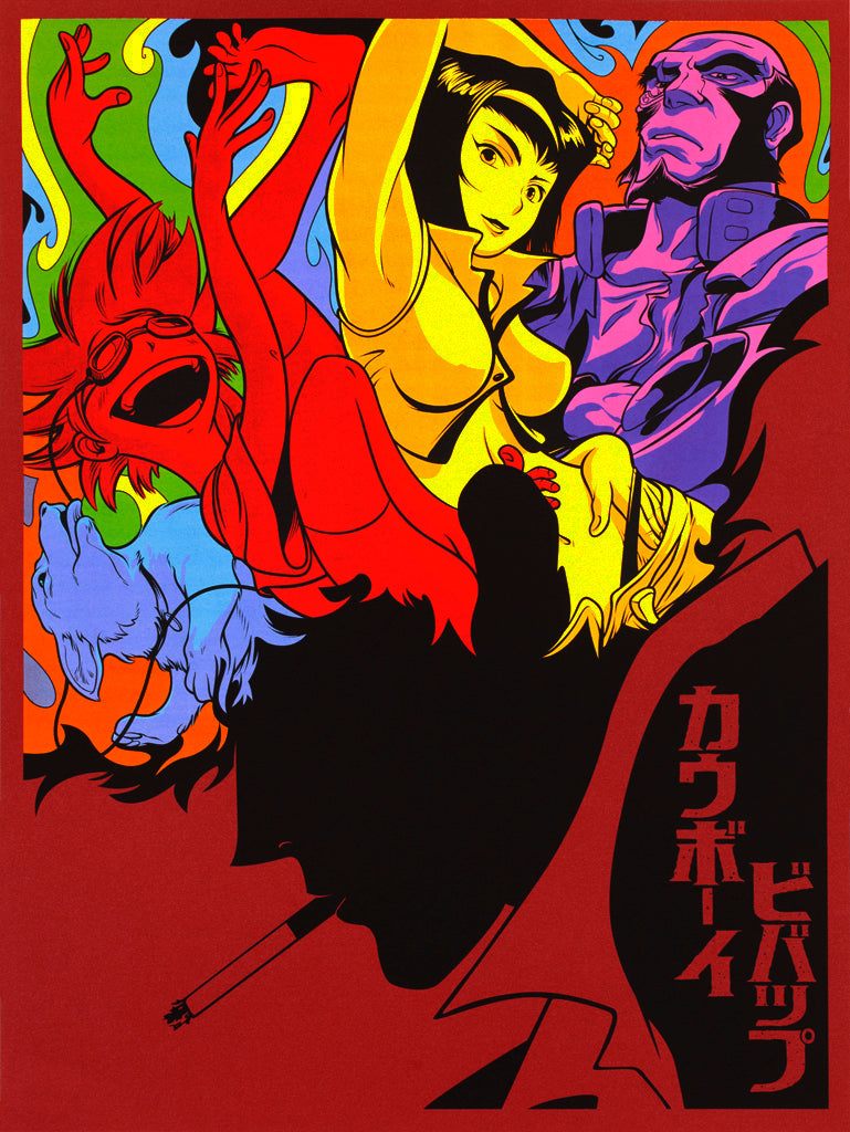 "Joshua Budich - ""Whatever Happens, Happens. (Cowboy Bebop)"" - Spoke Art"