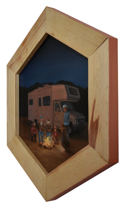 "Peter Adamyan - ""Cowboy Campfire"" - Spoke Art"
