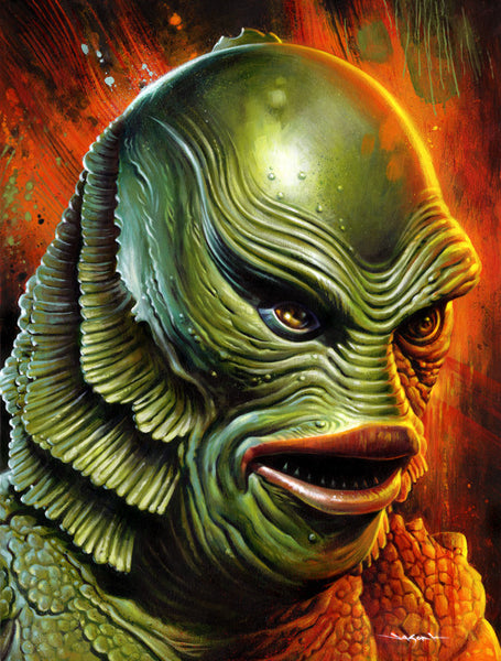 "Jason Edmiston - ""The Creature From The Black Lagoon"""