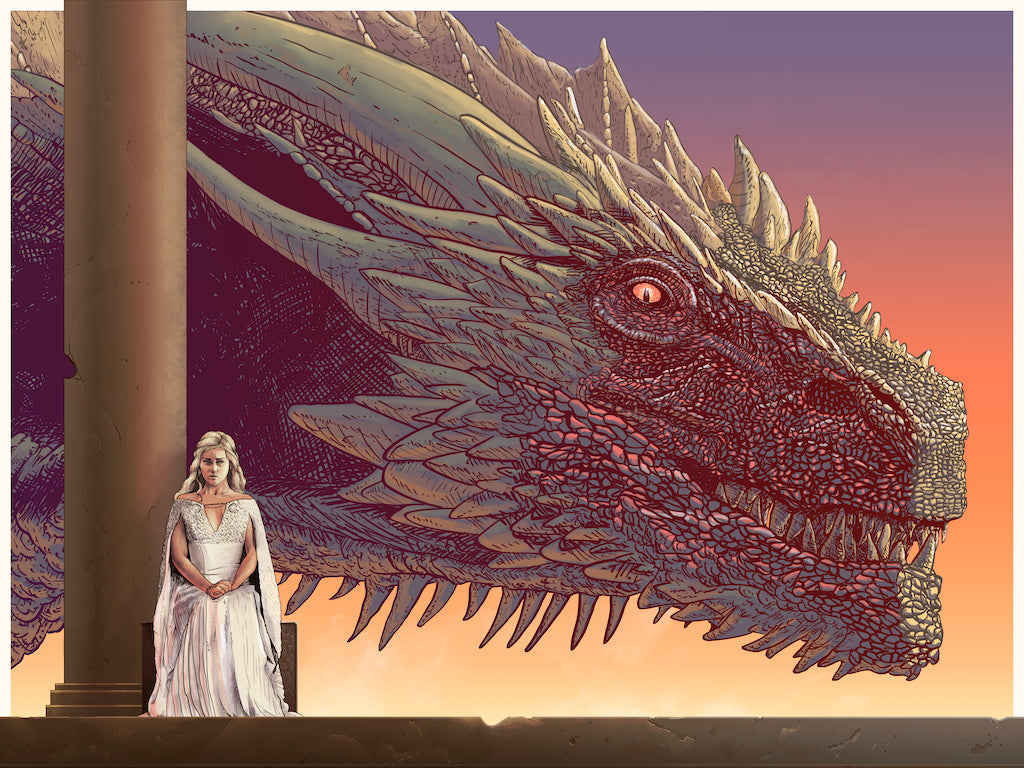 "Cristian Eres - ""Drogon"" - Spoke Art"